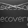 Crossing out recession and writing recovery.